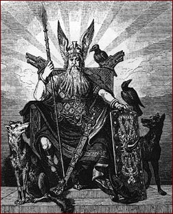 Od?n, el dios de los vikingos, da paso al cristianismo y al fin de la era vikinga